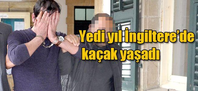 İngiliz polisini atlattı, KKTC'de yakalandı