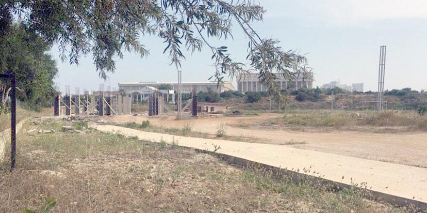 Bafra'daki 'kaçak lojman' inşaatı durduruldu!