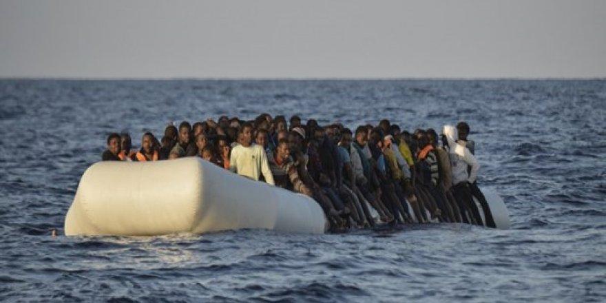 245 sığınmacı denizde kayboldu