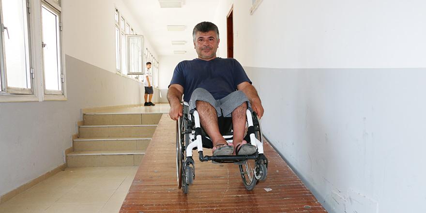 """""""Engelli Dairesi için niye hiçbir adım atılmıyor"""""""