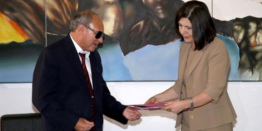 Siber, Engelliler Federasyonu'nu kabul etti