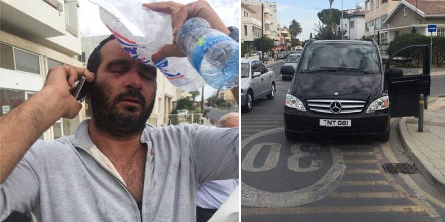 Kıbrıslı Türk taksiciye saldırı davası sürüyor