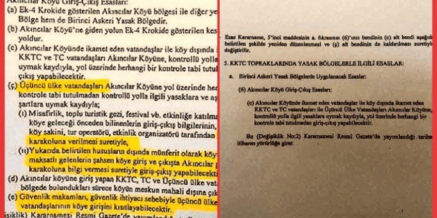 """AKINCILAR'DA """"YANLIŞ"""" DÜZELTİLDİ"""