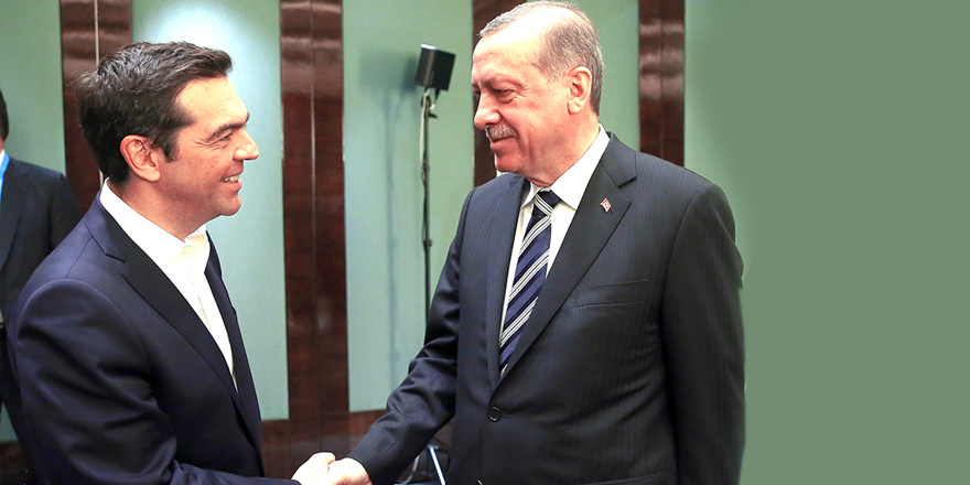 Erdoğan ve Tsipras, Kıbrıs'ı konuştu
