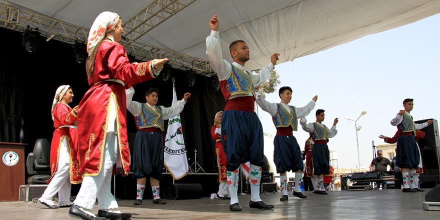 Akdoğan, 'Emek Festivali' ile renklendi