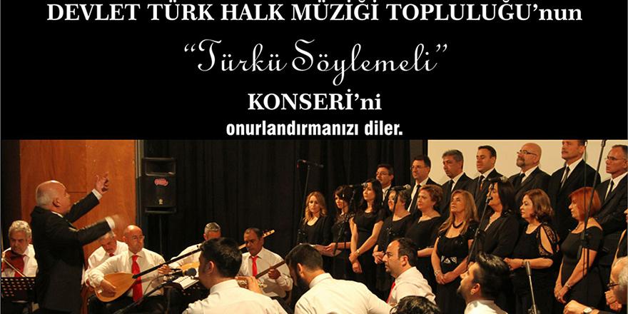 """""""Türkü Söylemeli"""" Adlı konser bu akşam Lefkoşa AKM'de..."""