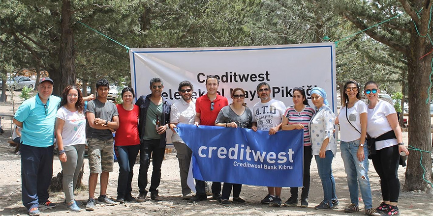 Creditwest Bank Ailesi Piknik'te Buluştu