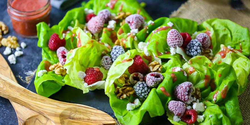 Sağlıklı ve 'sağlıksız' salatalar…
