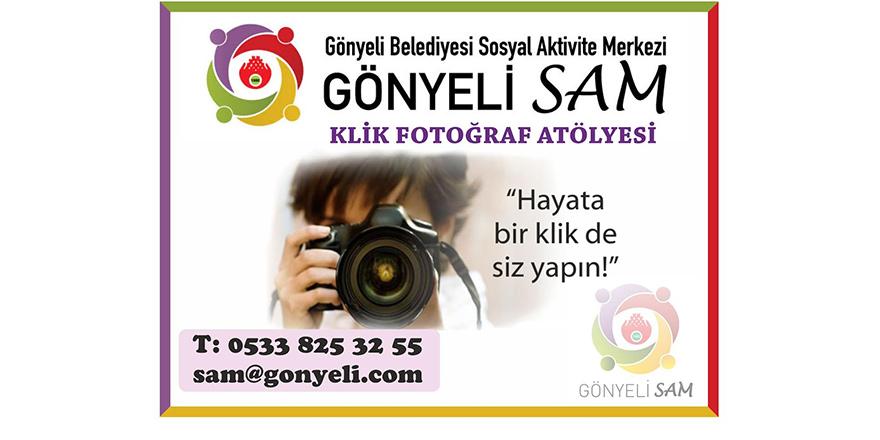 Gönyeli SAM'da Klik Fotoğraf Atölyesi kursları başlıyor