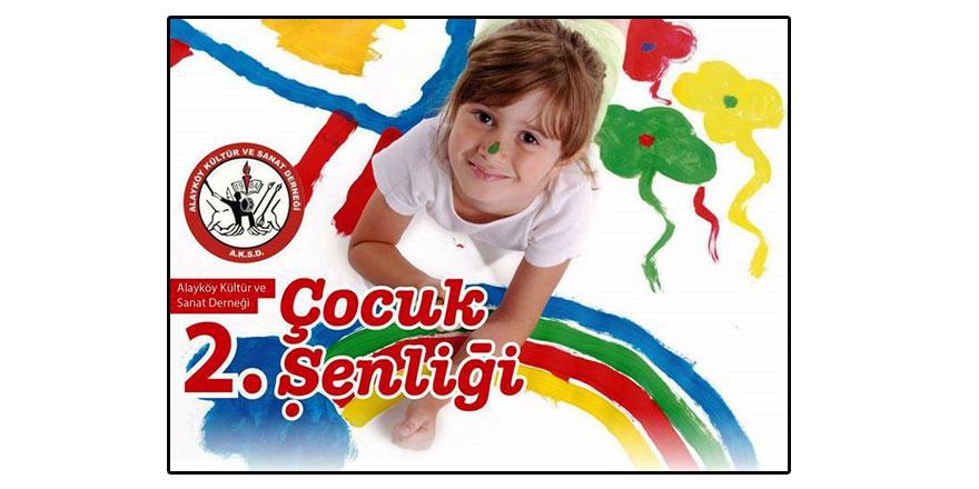 """Alayköy'de """"Dünya Çocuk Günü"""" şenliği düzenlenecek"""