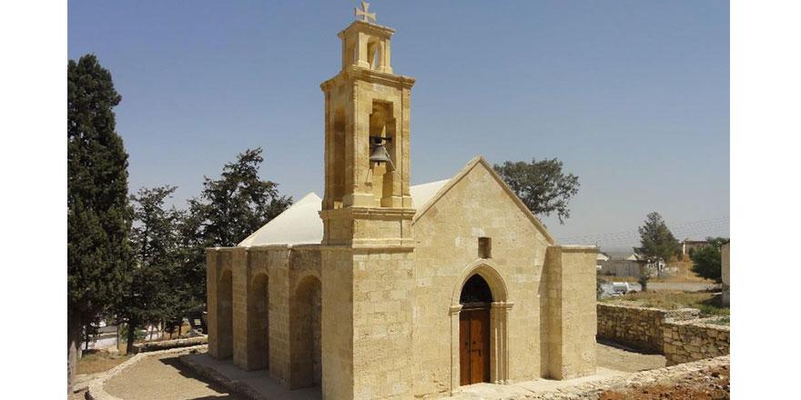 Agia Marina Kilisesi'nde çalışmalar sona erdi