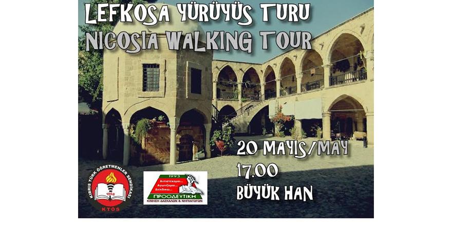 İki toplumlu Lefkoşa kültür turu bugün yapılıyor