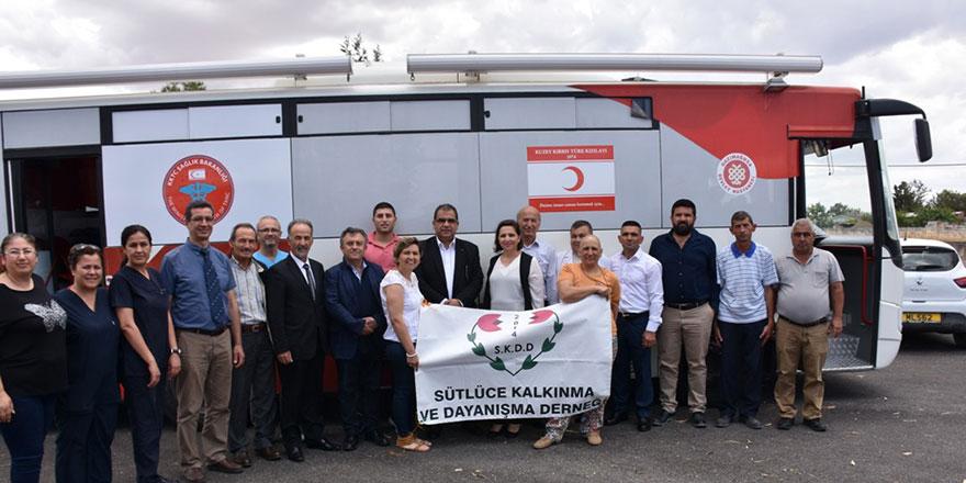 Sütlücü'de kan bağışı kampanyası