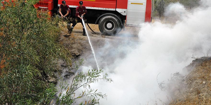 Sanayi Bölgesi'nde yangın