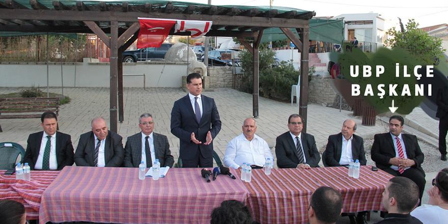 UBP İlçe Başkanı  devlet arsası dağıttı!