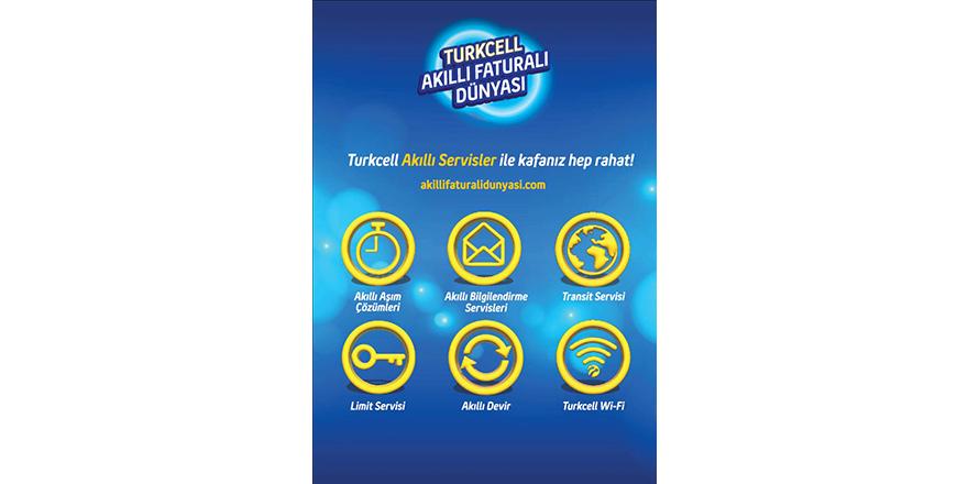 """Turkcell'den """"Akıllı Faturalı Dünyası"""""""