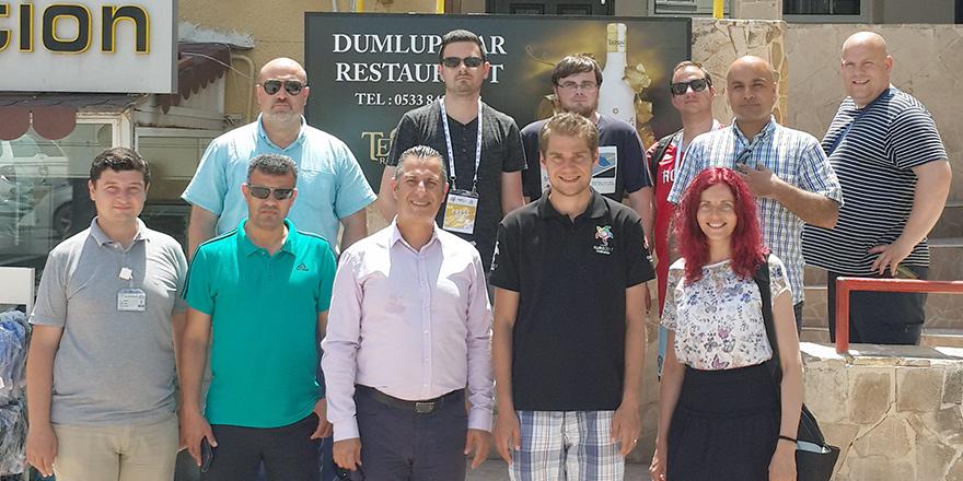Yabancı gazeteciler Mağusa'yı gezdi