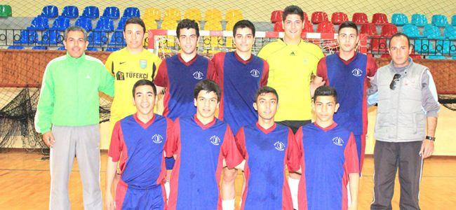 Liseler Futsal heyecanı başladı