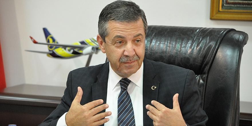 Ertuğruloğlu, Erdoğan ile görüştü