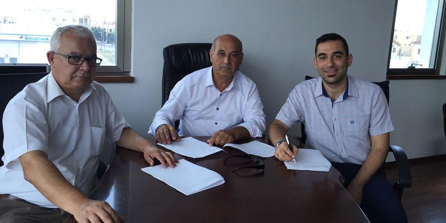Gönyeli Belediyesi'nde toplu iş sözleşmesi imzalandı