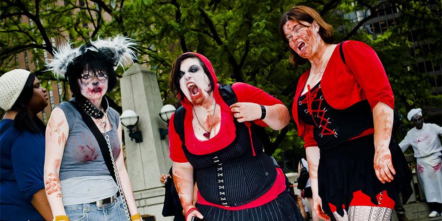 Chicago'yu zombiler bastı