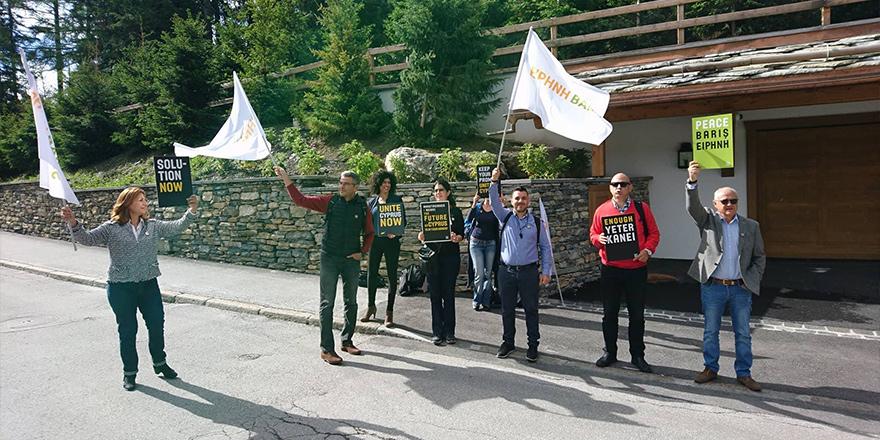 #UniteCyprusNow Crans Montana'da