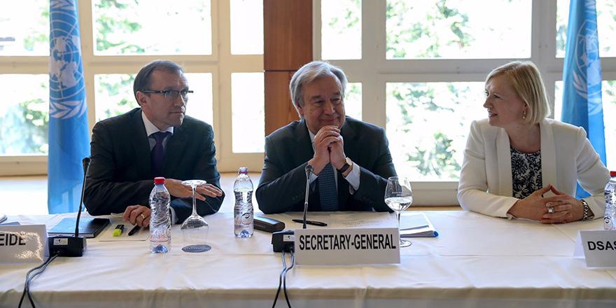 Guterres: BM yorulmadı, çözüm için buradayız