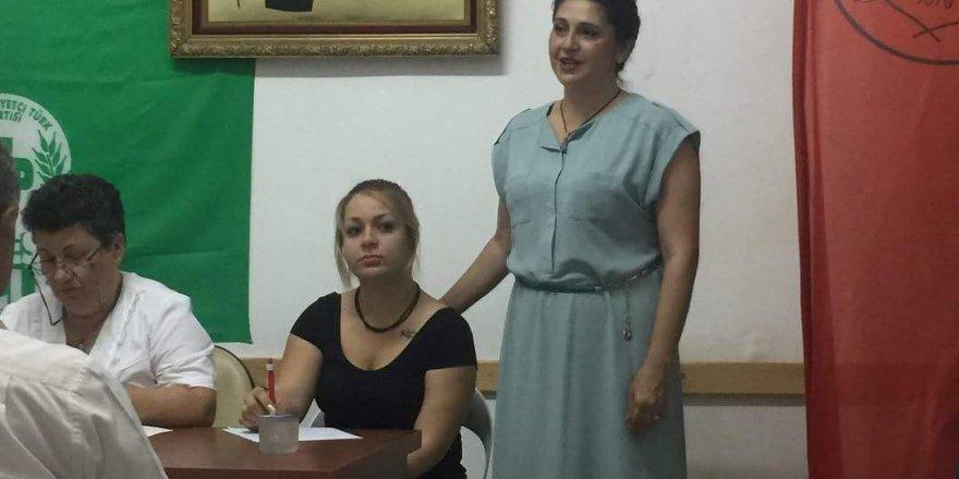 Lefke'de ilk başkan Suzan Tokay