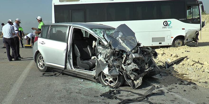 Kalecikte korkutan kaza; 1 ağır yaralı