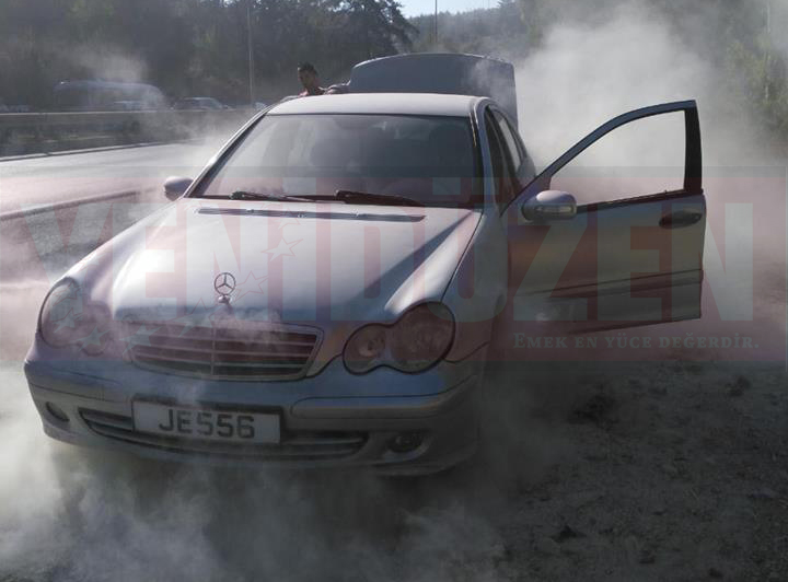 Ciklos'ta araç yangını