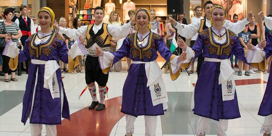 FOGEM genç grubu Karadağ'da festivale katıldı