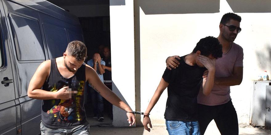 Uyuşturucu zanlılarına 4 gün ek tutukluluk