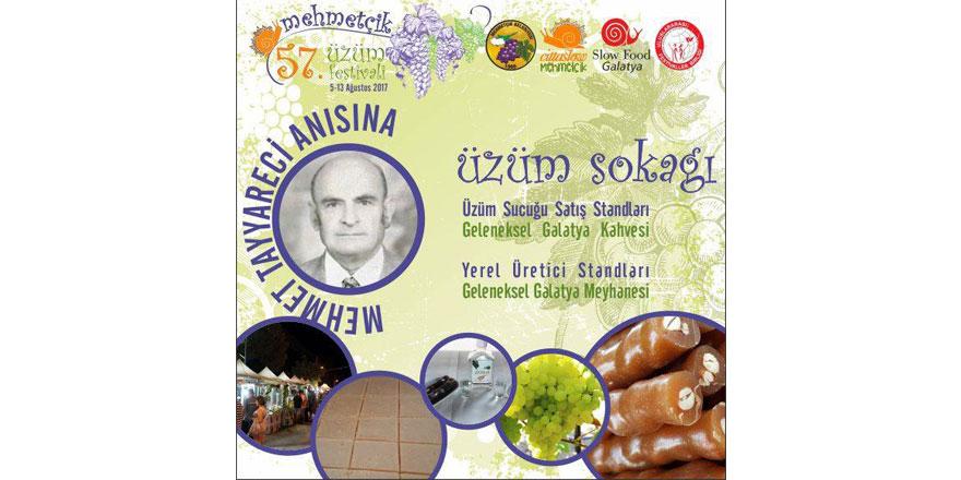 Mehmetçik Üzüm Festivali başlıyor