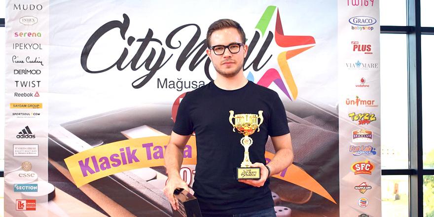 CITY MALL'dan tavla turnuvası