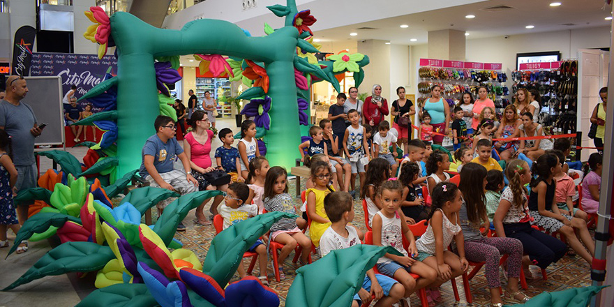 City Mall Çocuk Karnavalı başladı