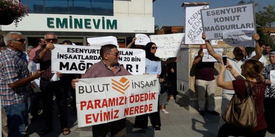 BULUT mağdurları TÜRKİYE'de eylemde