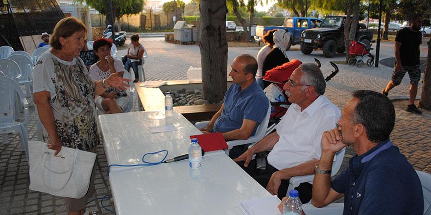 Güngördü mahalle toplantılarına devam ediyor