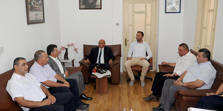 HÜR-İŞ, TDP'yi ziyaret etti