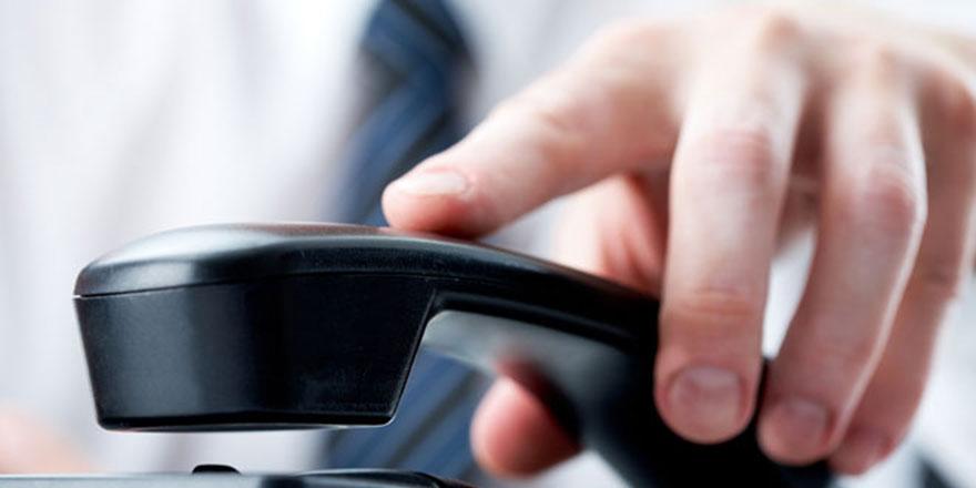 Demirhan Polis Karakolu telefonunda arıza