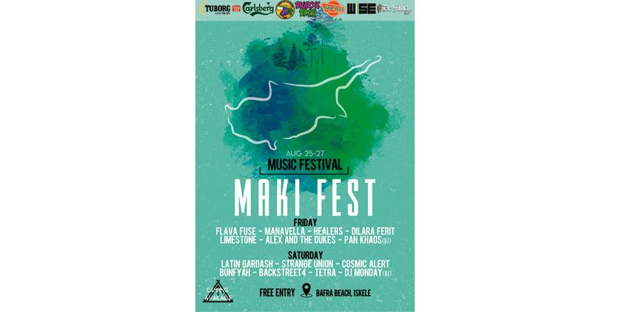 Maki festivali gerçekleşiyor