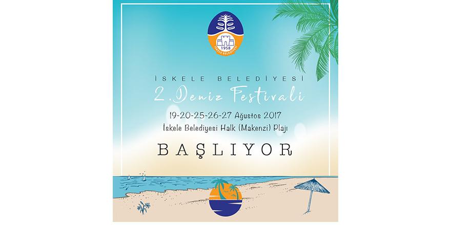 İskele Deniz Festivali 19 Ağustos'ta