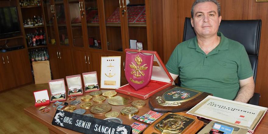 Semih Sancar'ın madalyaları bitpazarında çıktı