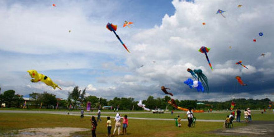 Kolombiya'da Uçurtma Festivali yapılıyor