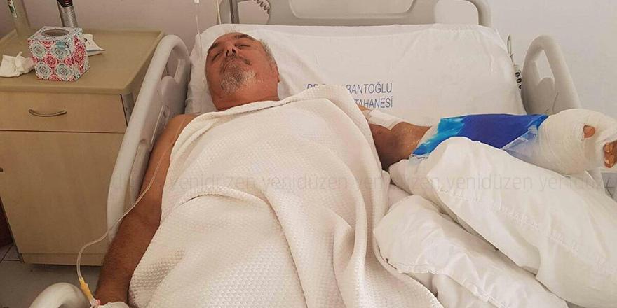 Jawa Ali kaza geçirdi