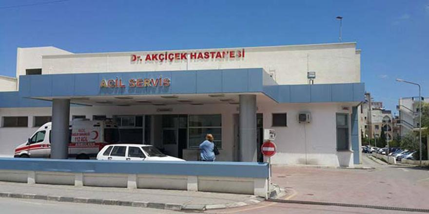 Girne Akçiçek Devlet Hastanesi'nde vakalar