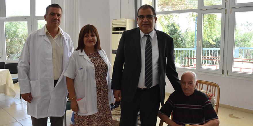 Sucuoğlu, Bülent Ecevit Rehabilitasyon Merkezi'ni ziyaret etti