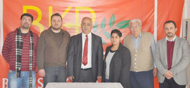 Baraka BKP'ye ziyaret gerçekleştirdi