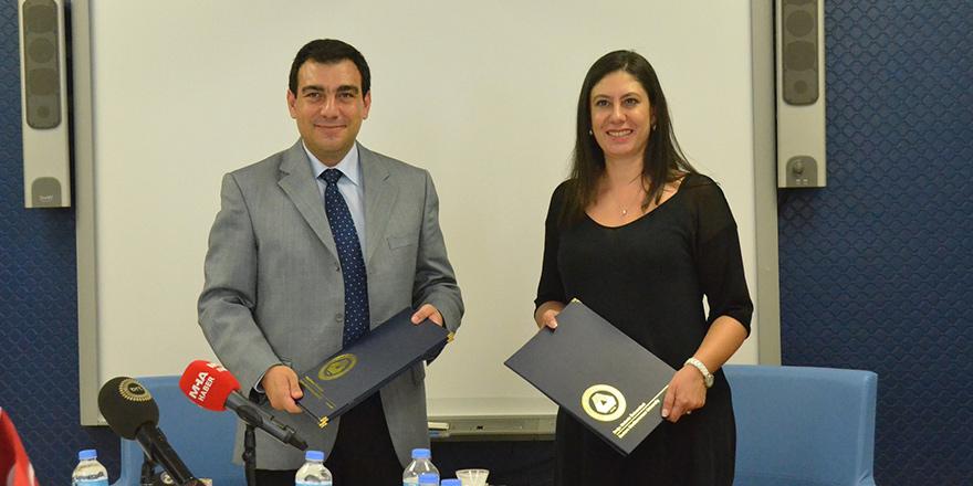 DAÜ ve Naci Talat Vakfı protokol imzaladı