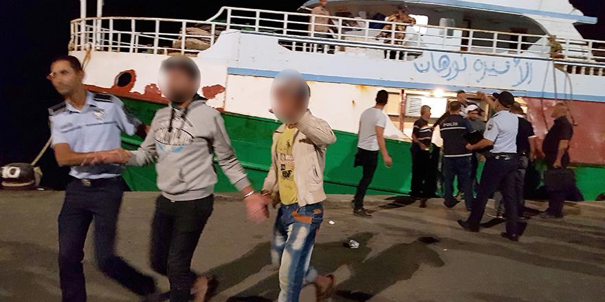 Mısırlı balıkçılar mahkemeye çıkarıldı...