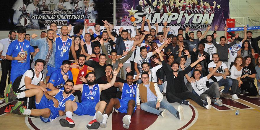 Basketbol Kupası'nda zafer LAÜ'nün